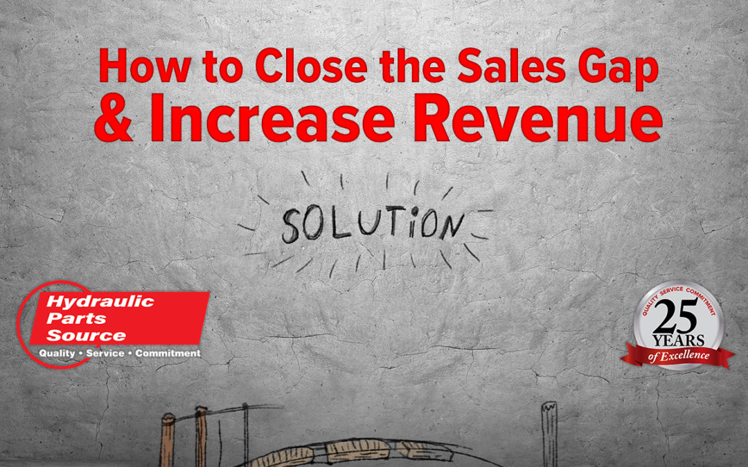 The Importance of Closing the Sales Gap for Hydraulics Distributors: Part 1